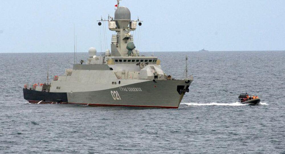 """Mały okręt rakietowy """"Grad Swijażsk"""