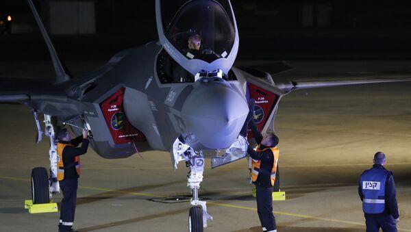 Myśliwiec F-35 kupiony przez Izrael od USA - Sputnik Polska