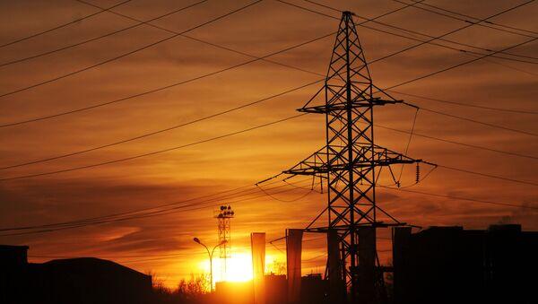 Linie energetyczne w obwodzie lwowskim - Sputnik Polska