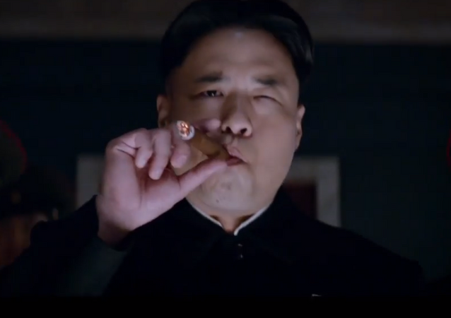 Kim Jong-Un: Randall Park stars with James Franco and Seth Rogen in Sony Pictures' The Interview, which was pulled from distribution after a hack into Sony Pictures that US officials have attributed to North Korea.