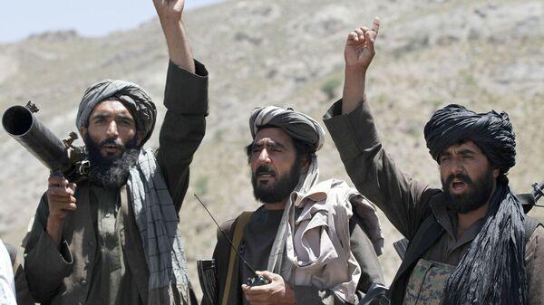 Członkowie ruchu Taliban w Afganistanie - Sputnik Polska