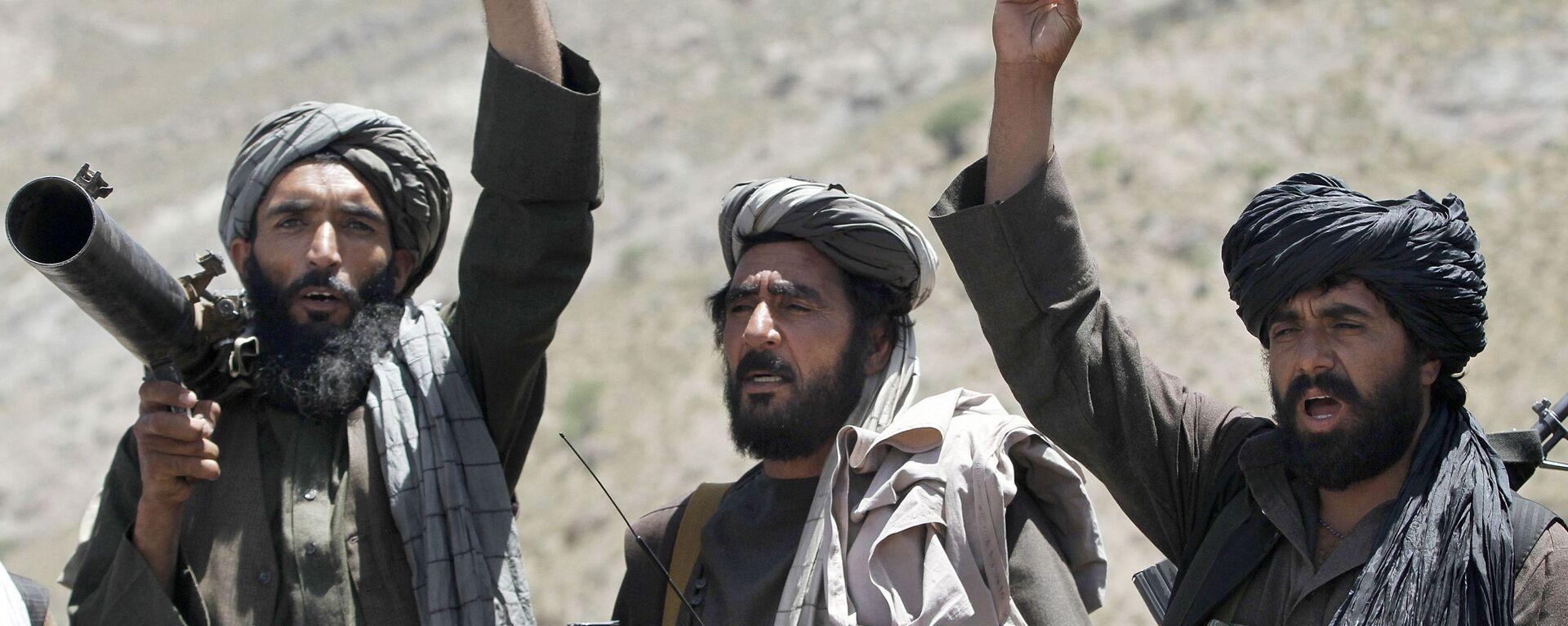 Członkowie ruchu Taliban w Afganistanie - Sputnik Polska, 1920, 09.07.2021