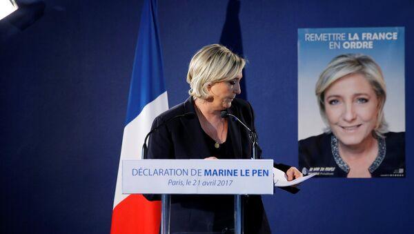 Marine Le Pen - Sputnik Polska
