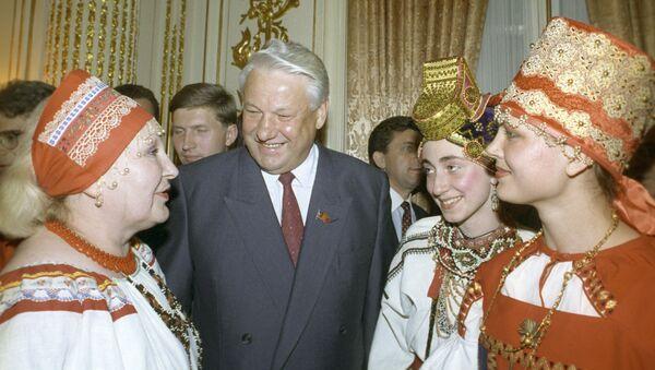 Wizyta Borysa Jelcyna w USA - Sputnik Polska