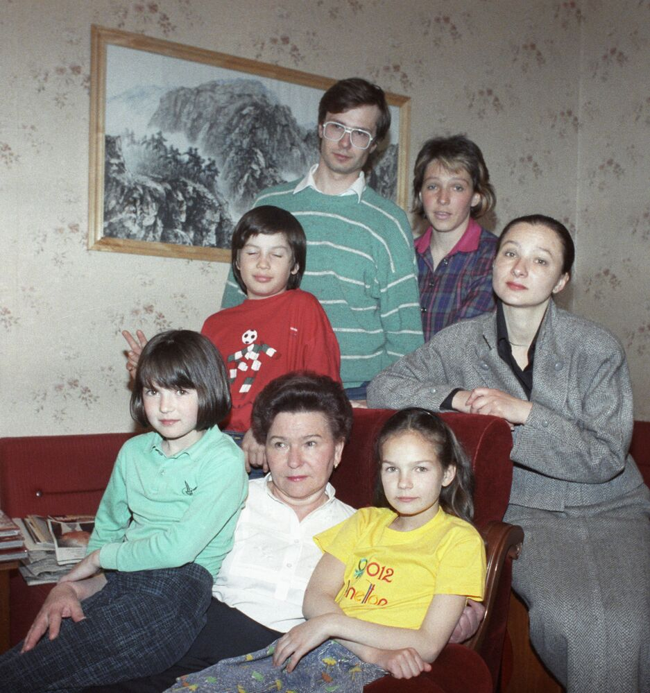 Rodzina prezydenta Rosji, 1991