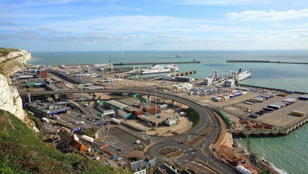 Anglia, Kent, port Dover - Sputnik Polska