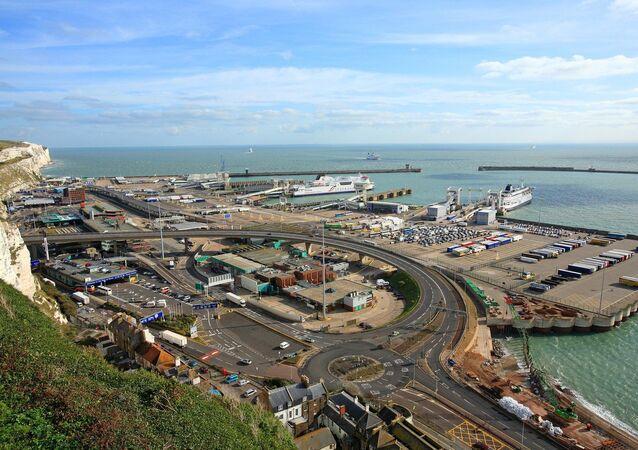 Anglia, Kent, port Dover