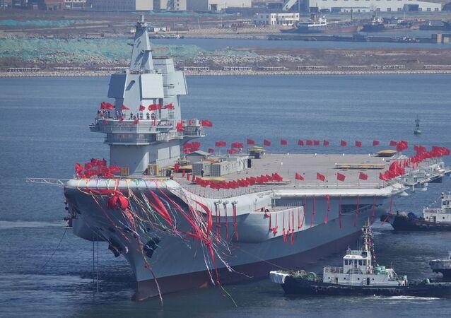 Chiński lotniskowiec