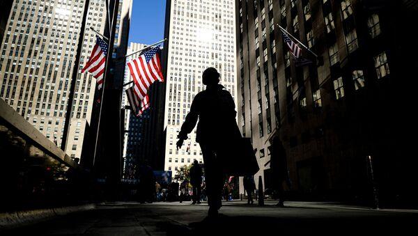 Przechodnie na jednej z ulic w Nowym Jorku - Sputnik Polska