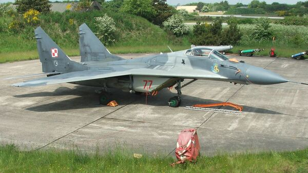 Myśliwiec polskich sił powietrznych MiG-29 - Sputnik Polska