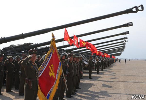 Manewry w Korei Północnej - Sputnik Polska