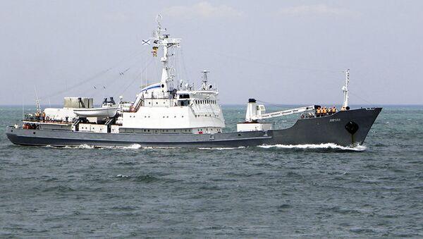Średni okręt wywiadowczy Liman - Sputnik Polska