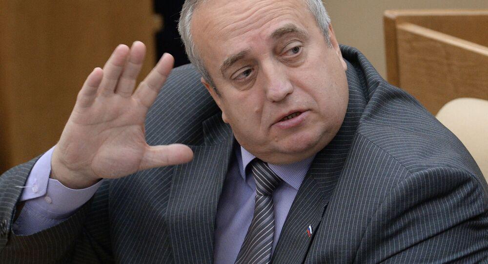 Wiceprzewodniczący Komitetu Dumy ds. Obrony Franc Klincewicz