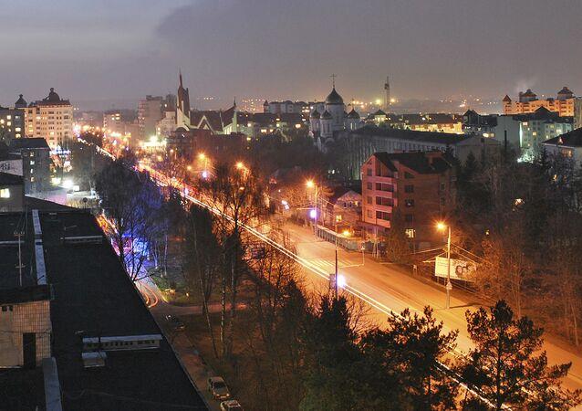 Prospekt Stepana Bandery w Tarnopolu
