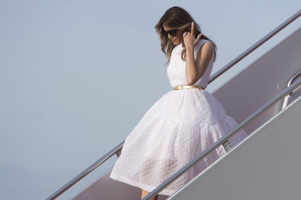 Piękna Melania Trump