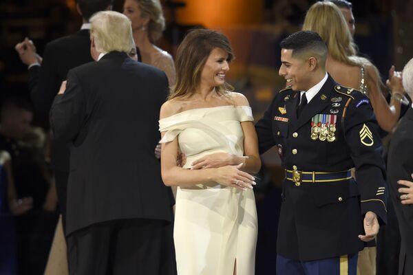 Piękna Melania Trump - Sputnik Polska