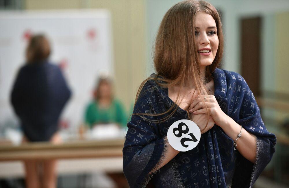 Finał eliminacji konkursu piękności Miss Moskwy 2017
