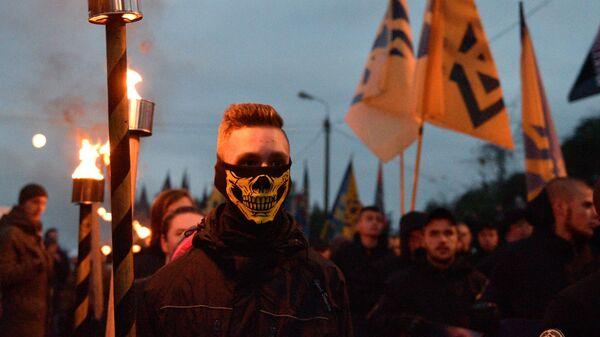 Ukraińscy nacjonaliści - Sputnik Polska