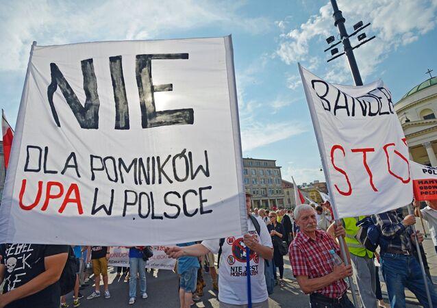 Nie dla pomników UPA w Polsce