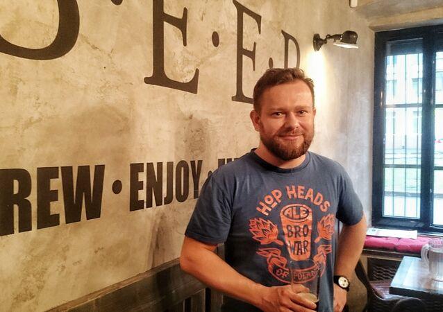 Michał Saks - jeden z założycieli AleBrowar