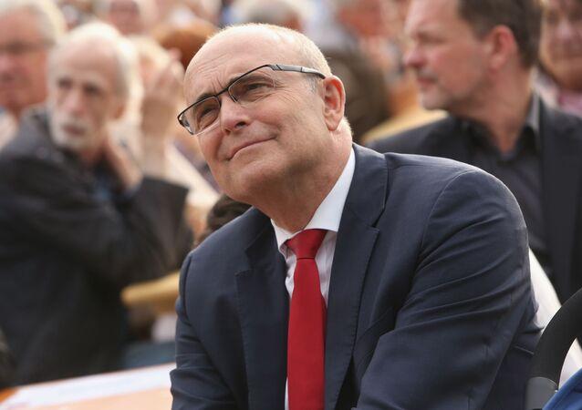 Premier Meklemburgii-Pomorza Przedniego Erwin Sellering