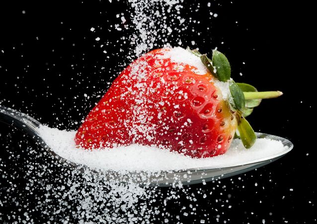 Truskawka w cukrze