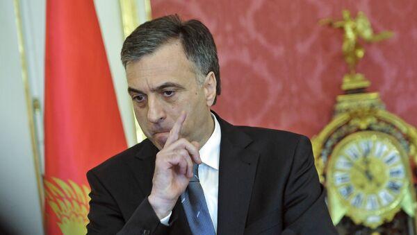Prezydent Czarnogóry Filip Vujanović - Sputnik Polska