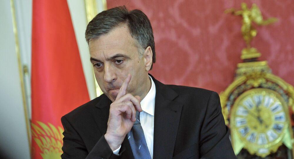 Prezydent Czarnogóry Filip Vujanović
