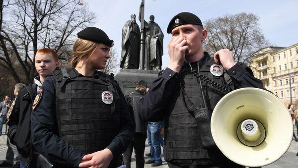 """Protesty aktywistów """"Otwartej Rosji"""" w rosyjskich miastach - Sputnik Polska"""