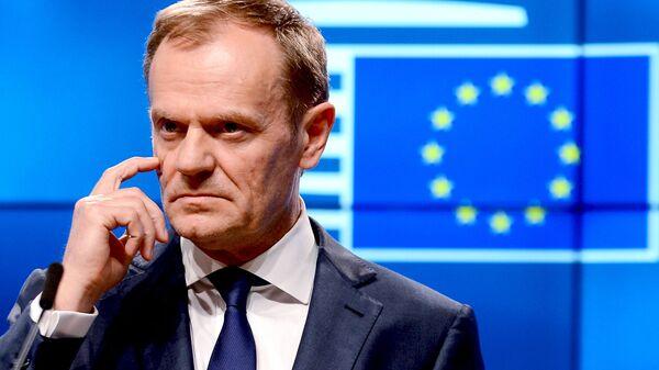 Szef Rady Europejskiej Donald Tusk - Sputnik Polska
