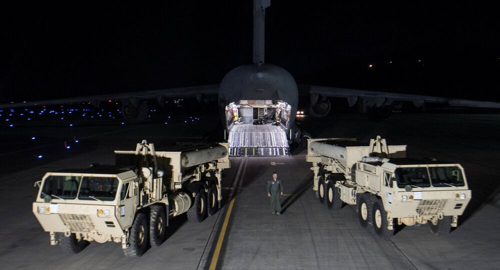 System THAAD (Terminal High-Altitude Area Defense) jest przeznaczony do niszczenia głowic pocisków balistycznych w ostatniej fazie lotu