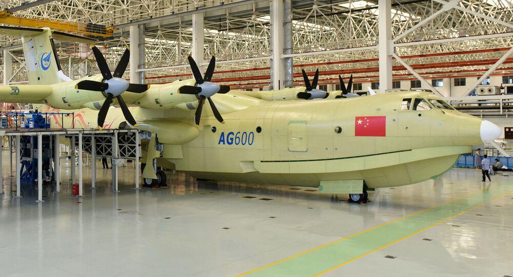 Samolot amfibia AG600