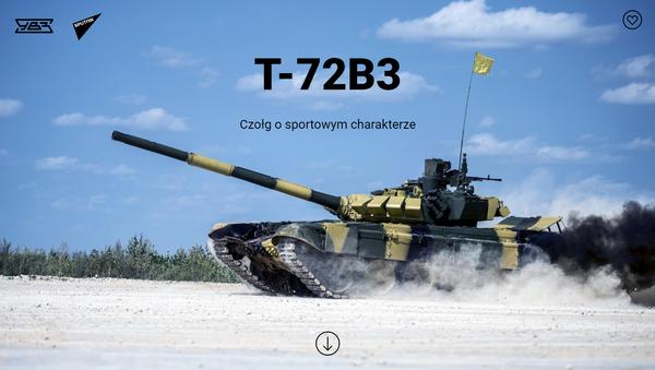 T-72B3 - Sputnik Polska