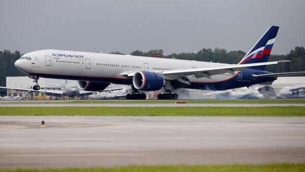 Boeing 777-300ER linii lotniczych Aerofłot - Sputnik Polska