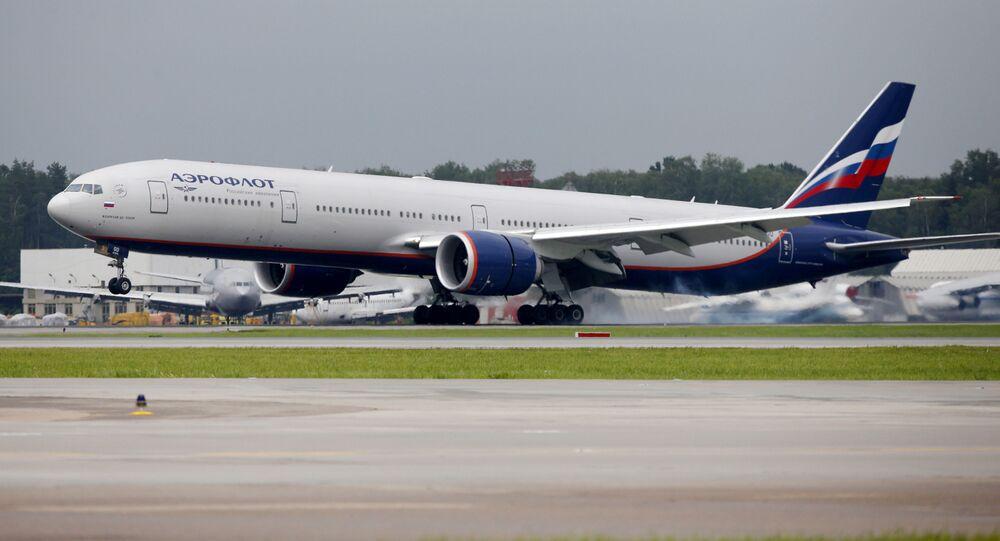 Boeing 777-300ER linii lotniczych Aerofłot