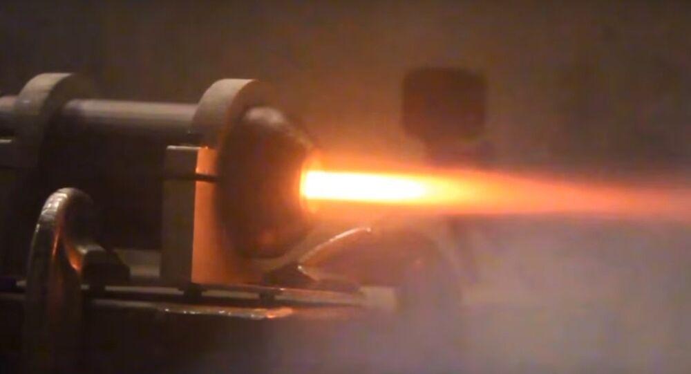 Inżynierowie przetestowali plastikowy silnik rakietowy