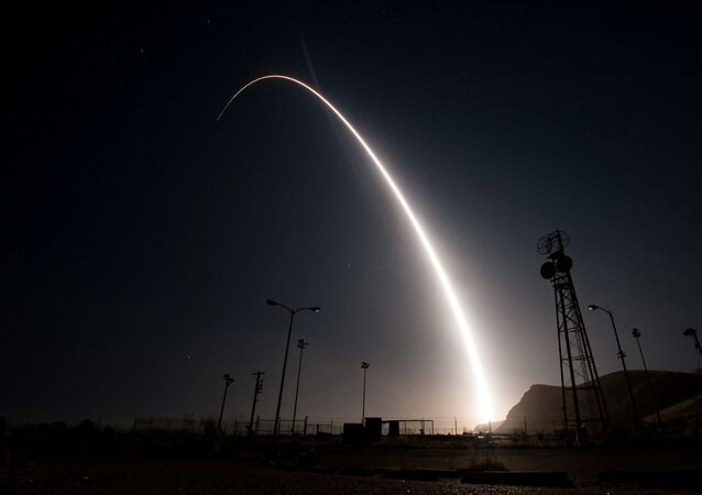Test amerykańskiej międzykontynentalnej rakiety balistycznej Minuteman III