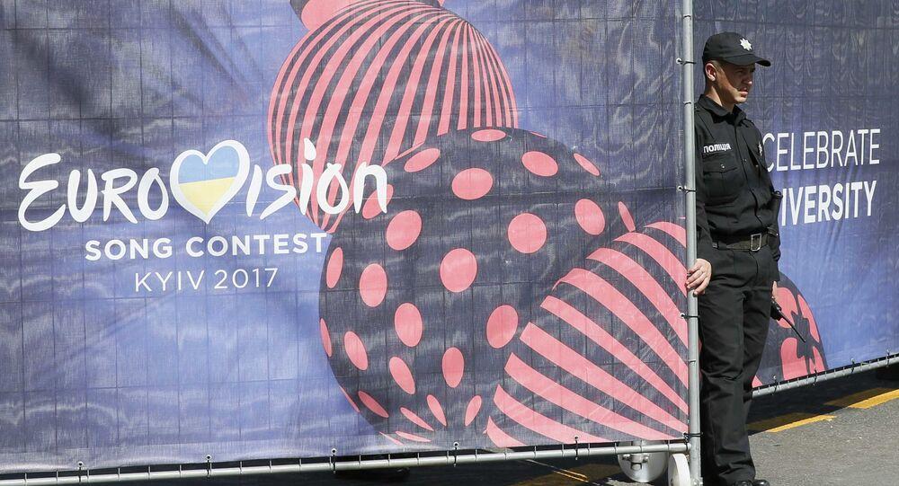 Billboard konkursu Eurowizja 2017 w Kijowie