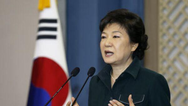 Prezydent Korei Południowej Park Geun-hye - Sputnik Polska