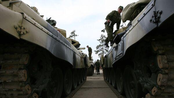 Czołgi T-72 - Sputnik Polska