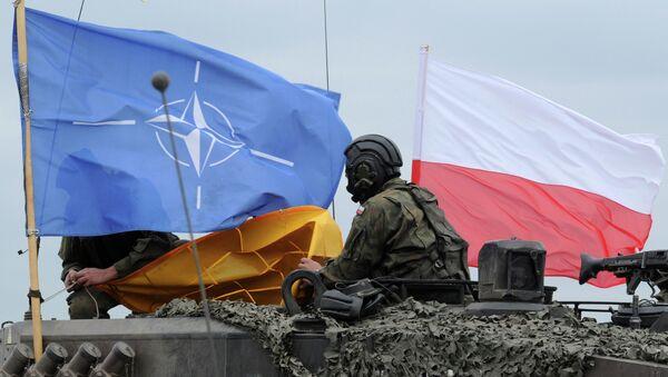 "Manewry NATO ""Noble Jump w Polsce - Sputnik Polska"