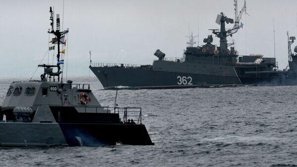 Okręty Floty Oceanu Spokojnego Marynarki Wojennej Federacji Rosyjskiej - Sputnik Polska