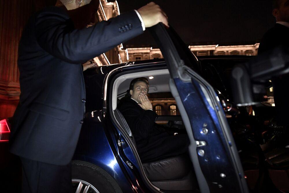 Prezydent elekt Emmanuel Macron.