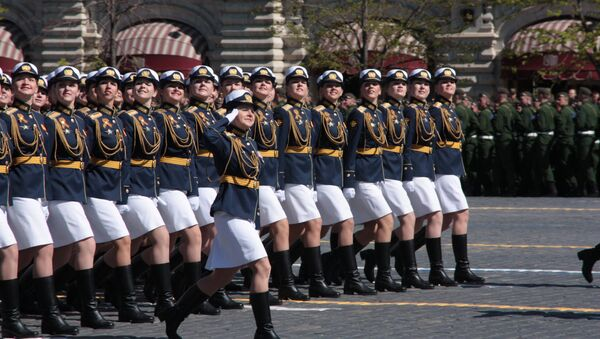 Kobiet w rosyjskiej armii jest coraz więcej. - Sputnik Polska