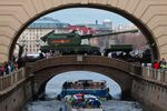 Próba generalna Defilady Zwycięstwa w Petersburgu.