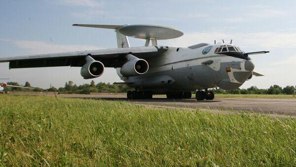 Samolot wykrywania radiolokacyjnego dalekiego zasięgu A-50. Zdjęcie archiwalne - Sputnik Polska