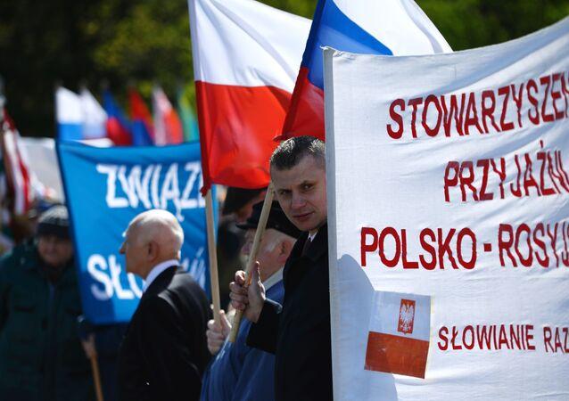 Uczestnicy akcji Nieśmiertelny Pułk w Warszawie