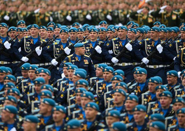 Parada Wojskowa na Placu Czerwonym 9 maja 2017