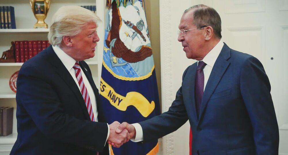 Spotkanie Siergieja Ławrowa z prezydentem USA