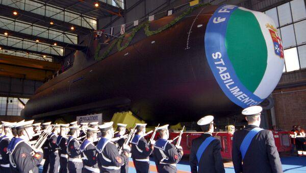 Włoski okręt podwodny Scire - Sputnik Polska